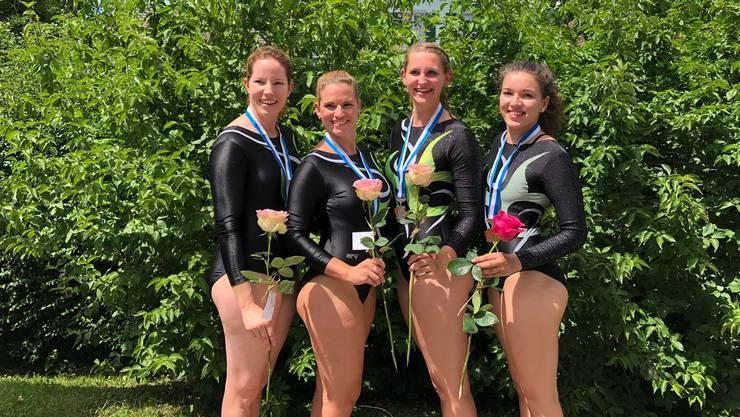 Carole Jobin, Nathalie Schneider, Maya Keller und Kim Kober