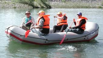 Für Wasserfahrer gibt es schon bald einen Flussführer für den Hochrhein. – Foto: chr (Archiv)