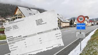 So gestaltet sich die aktuelle Rechnungsstellung für Baubewilligungen in Holderbank.