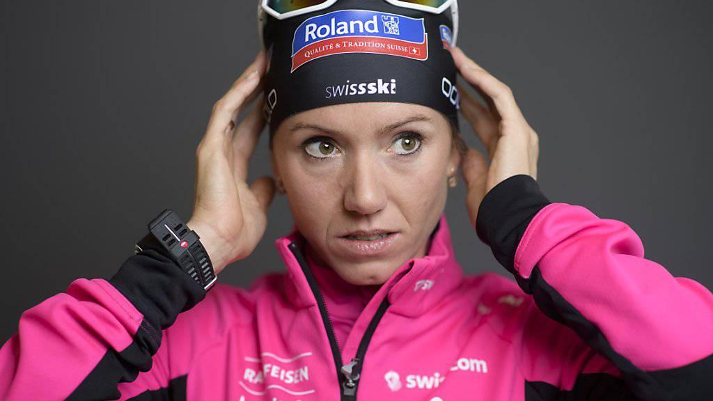 Biathletin Selina Gasparin gibt an der Tour de Ski ein kurzes Gastspiel bei den Langläufern