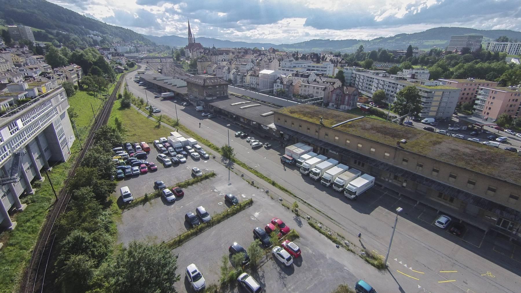 Das Güterbahnhofareal heute.