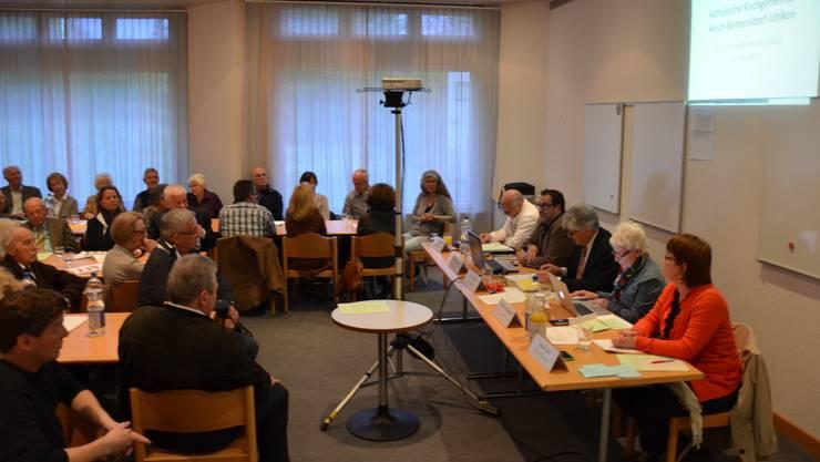 Gemeindeversammlung der Kirchengemeinde Aesch-Birmensdorf-Uitikon