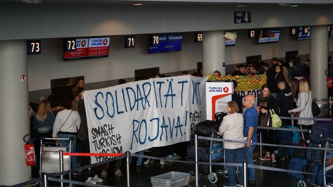 Euro-Airport Turkish Airlines Blockade