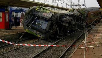 Zugunglück in der Nähe von Paris