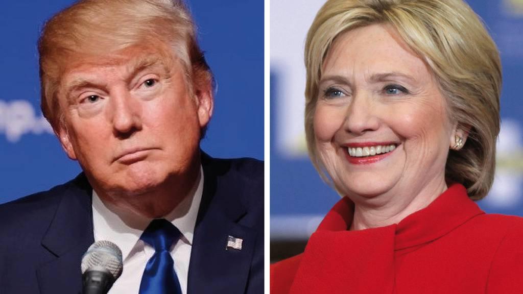 Trump oder Clinton - so war das letzte TV-Duell