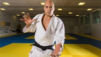 «Judo war mein Ventil für die überschüssige Energie, jetzt ist es seit langem ein wichtiger Teil meines Lebens», sagt Patrik Moser zu seinem Sport. Claudio Thoma