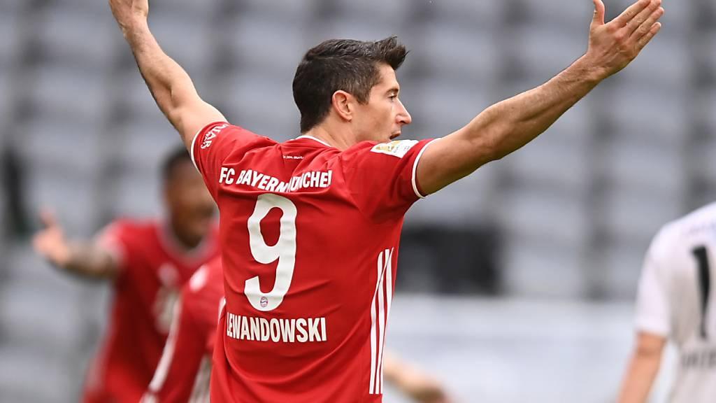 Robert Lewandowski ist abermals Bayerns Sieggarant