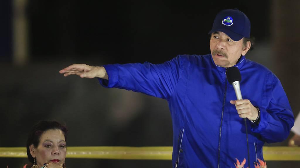 Präsident Ortega stellt sich erneut zur Wahl
