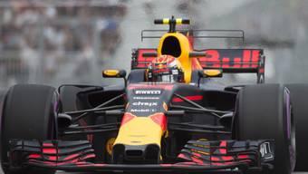 Max Verstappen im Red Bull-Renault war Schnellster im ersten Training in Baku