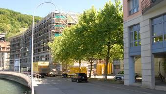 Ennetbaden will aus dem Hirschenplatz eine Aufenthaltszone machen.