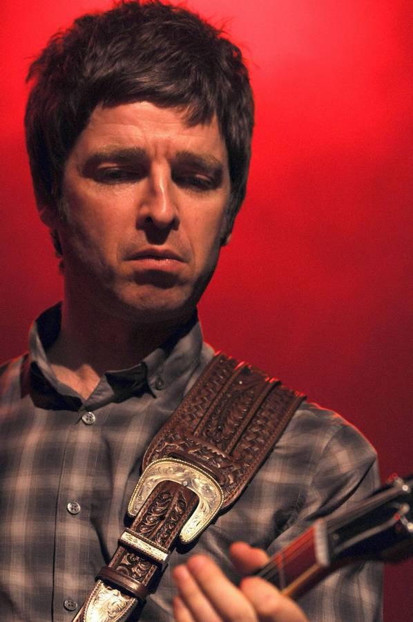 Noel Gallagher bei einem Auftritt im Jahr 2008. (© Keystone)