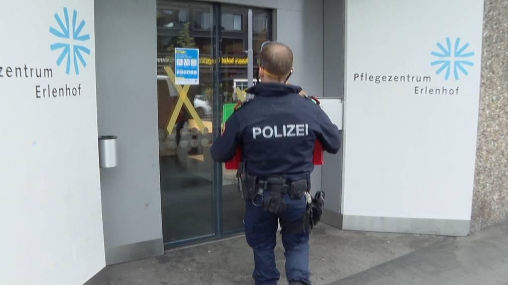 Nach Fenstersturz im Erlenhof: Rund eine halbe Million Sicherheitskosten