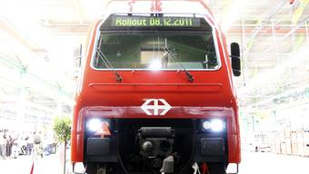 Imposant: die neue S-Bahn.
