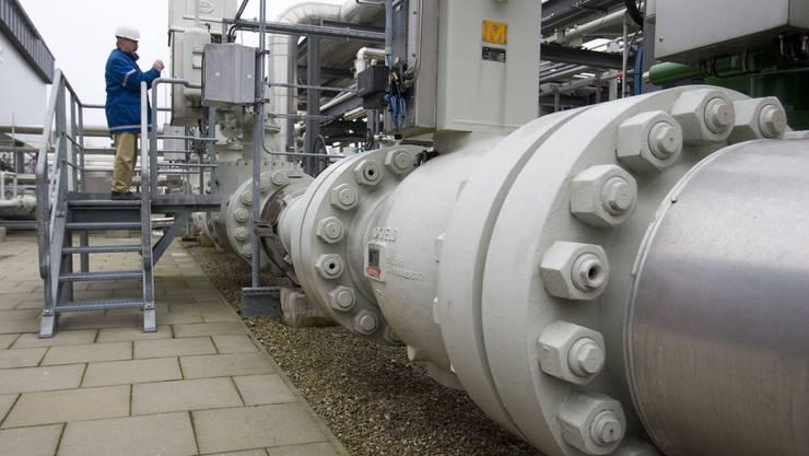 Erdgas Pipeline in Deutschland (Archiv)