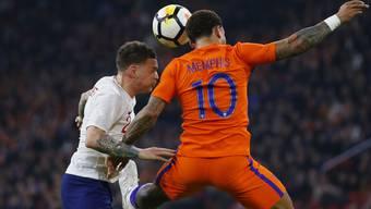 Erfolgreicher als gegen England: Memphis Depay erzielte für die Niederlande das zweite Tor gegen Portugal. (Archivbild)