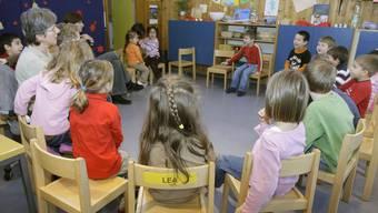 Der Kanton Aargau wird vom Bund in Sachen Kinderbetreuung mit 4,5 Millionen Franken unterstützt. (Symbolbild).