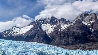 Gletscher im chilenischen Nationalpark Torres del Paine (Archiv)