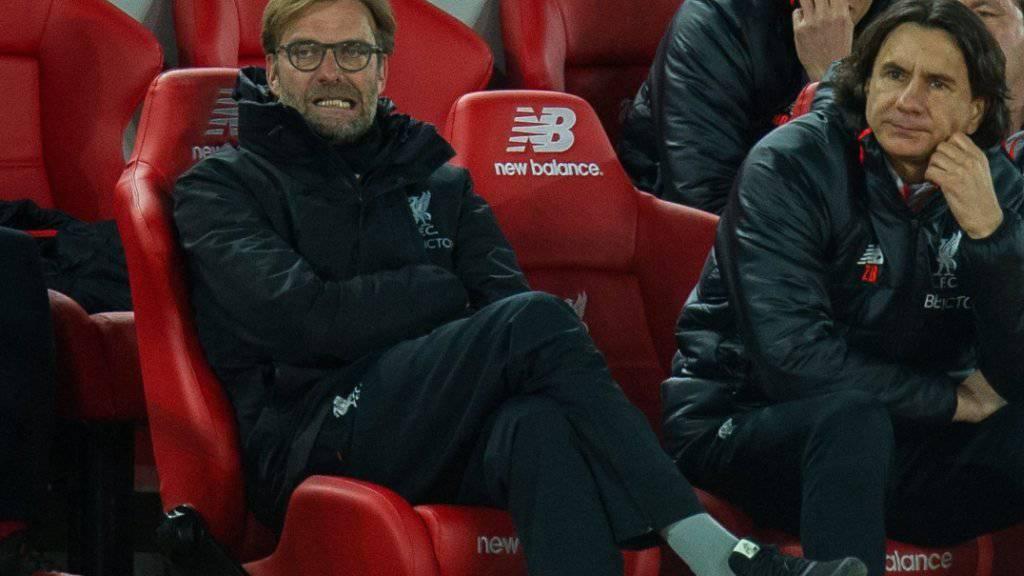 Das gefällt Jürgen Klopp nicht: Liverpool blamiert sich gegen Viertligisten
