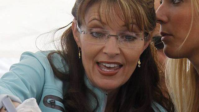 Palin beim letzten offiziellen Picknick