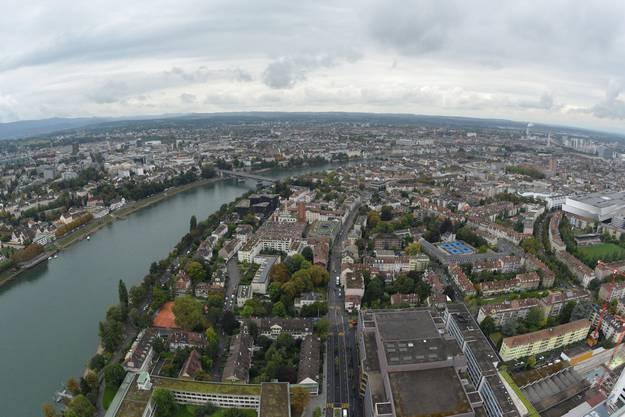 Von hier oben kann man viele Sehenswürdigkeiten der Stadt erspähen.