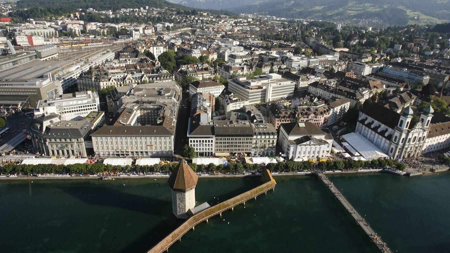 Luzern mit Kappelbrücke