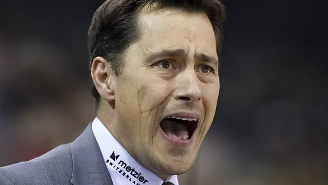 Guy Boucher beim Spengler Cup für Team Canada verantwortlich