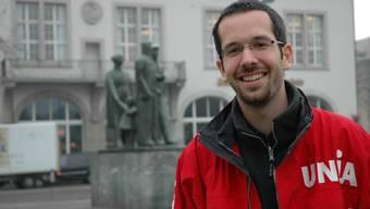 Wegen internen Vorwürfen sexueller Belästigung freigestellt: Roman Burger, Geschäftsleiter Unia Sektion Zürich.