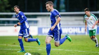 Alain Schultz spielte die letzten viereinhalb Jahre seiner Karriere für Wohlen.