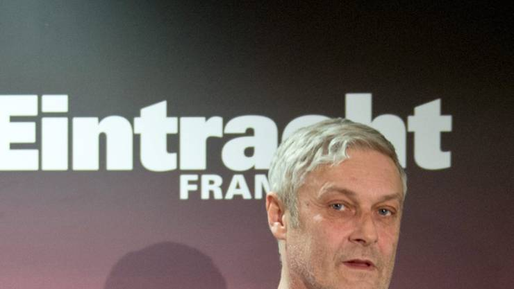 Armin Veh muss seinen Posten als Trainer bei Eintracht Frankfurt räumen