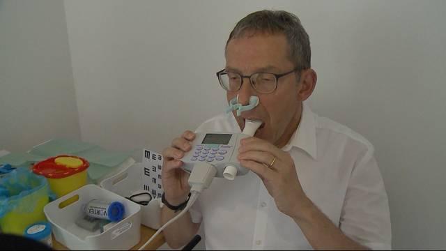Urs Hofmann im Gesundheitscheck