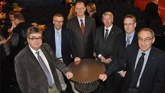 Roger Brunner (SVP), Otto Müller (FDP), Reto Siegrist (CVP), Jean-Pierre Balbiani (SVP), Roger Bachmann (SVP) und Rolf Schaeren (CVP).