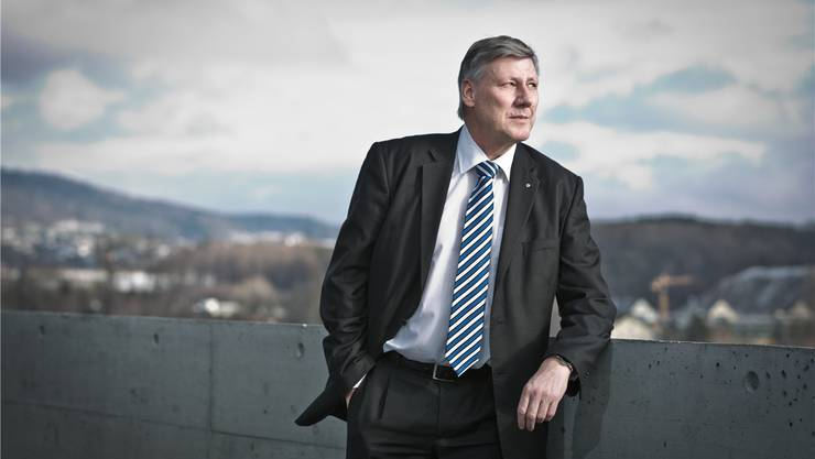 Adrian Leimgrübler kandidiert, trotz seiner fristlosen Entlassung, erneut für das Amt des Statthalters.
