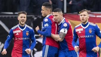 Marek Suchy und Noah Okafor stehen am Ursprung der beiden FCB-Treffer gegen YB.