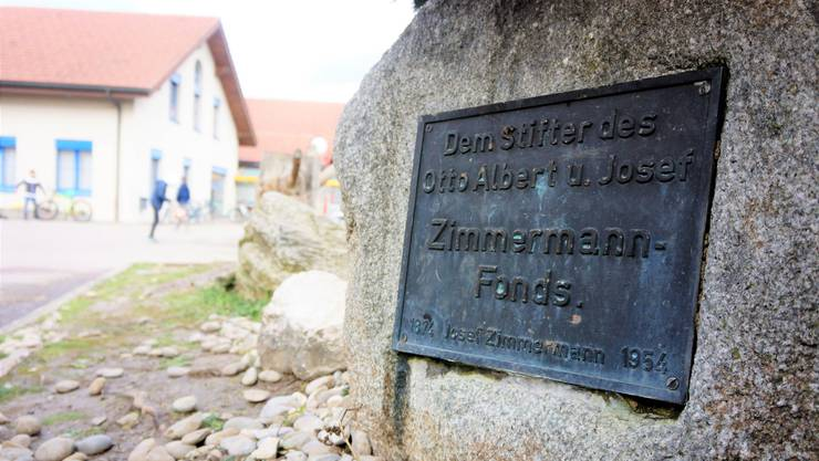 Der letzte der Zimmermanns, Josef (1874 bis 1954), gründete die Stiftung.