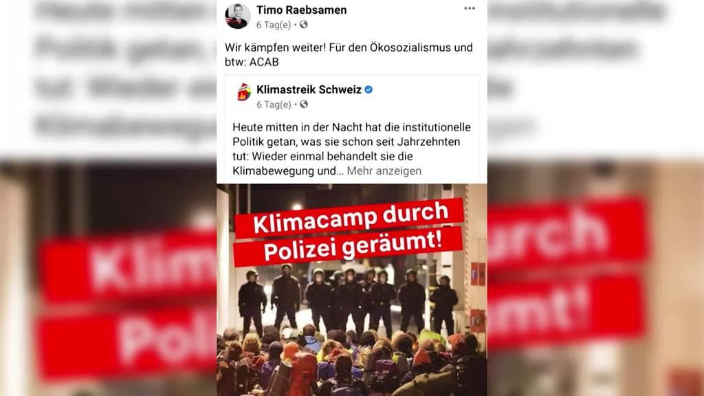 ACAB-Aussage: Timo Räbsamen macht sich strafbar