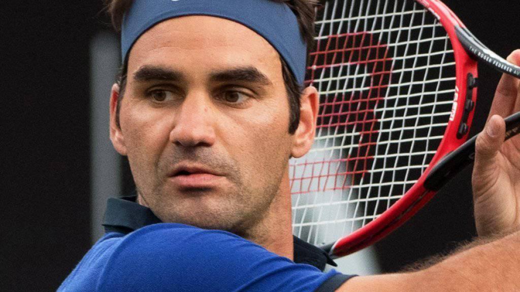 Das Geld macht ihm keine Sorgen: Roger Federer
