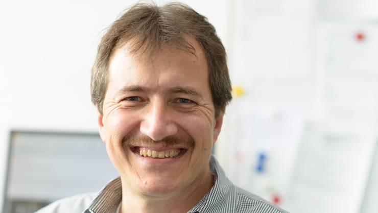 Gabriel Zenklusen arbeitet seit 2011 für das kantonale Amt für Umwelt.