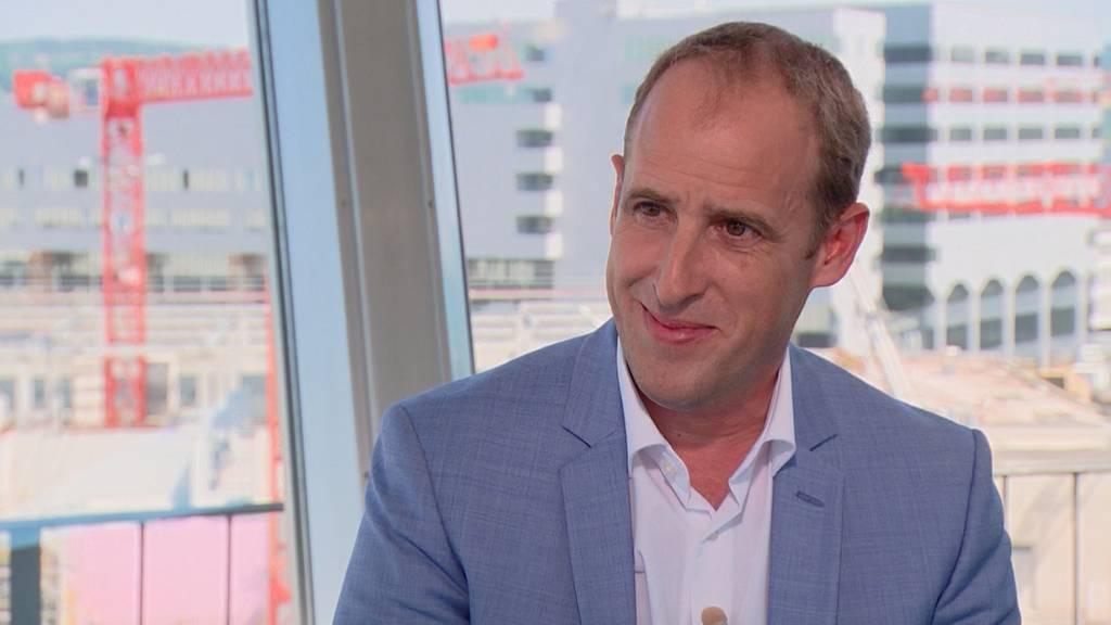 Flughafen-CEO Stephan Widrig