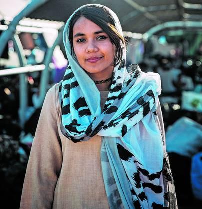 Mahdie, 16, aus Afghanistan.