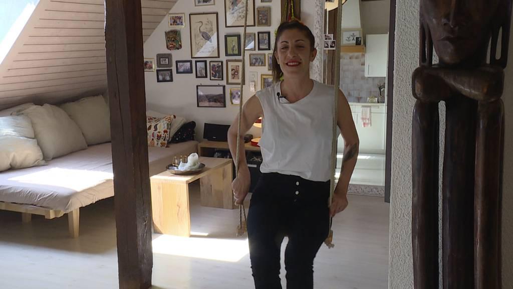 Paola (41) zeigt «ihres Dihei»
