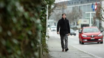 Grünen-Präsident Daniel Hölzle will am 18. Oktober den Wähleranteil ausbauen. Sein Ziel sind 15 Sitze im Grossen Rat.