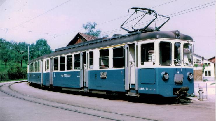 Bis 1984 war ein solches BTB-Bähnli zwischen der Heuwaage und Rodersdorf ein gewohnter Anblick.