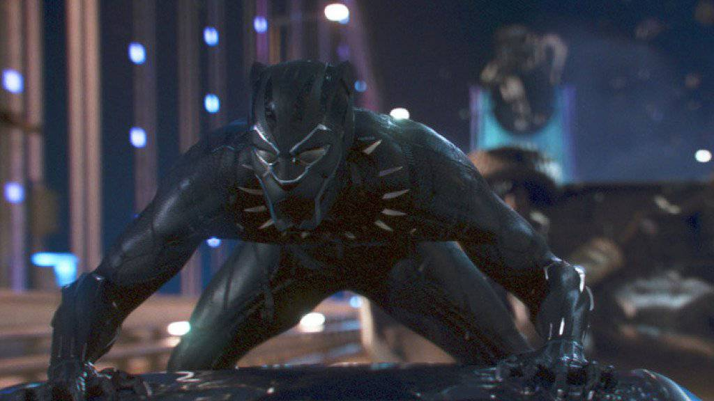 «Black Panther» verdrängt «Fifty Shades Freed»