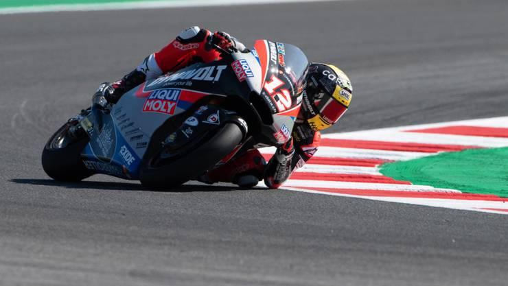 Darf weiter auf den WM-Titel in der Moto2-Klasse hoffen: Tom Lüthi