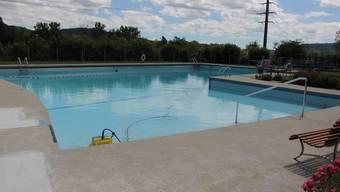 Wegen Lecks konnte das Hauptschwimmbecken in der Saison 2020 nicht genutzt werden.