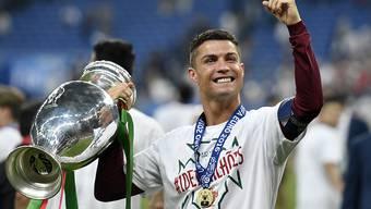 Europameister Cristiano Ronaldo wurde zu Europas Fussballer des Jahres gewählt