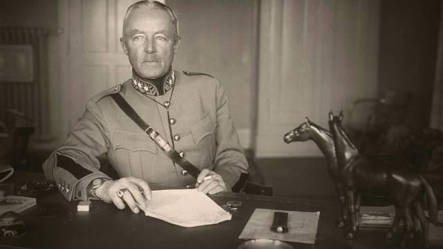 Archivbild von General Guisan aus dem Jahr 1949