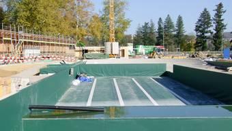 Die Eröffnung des Naturbads war einst für Mitte 2013 geplant.