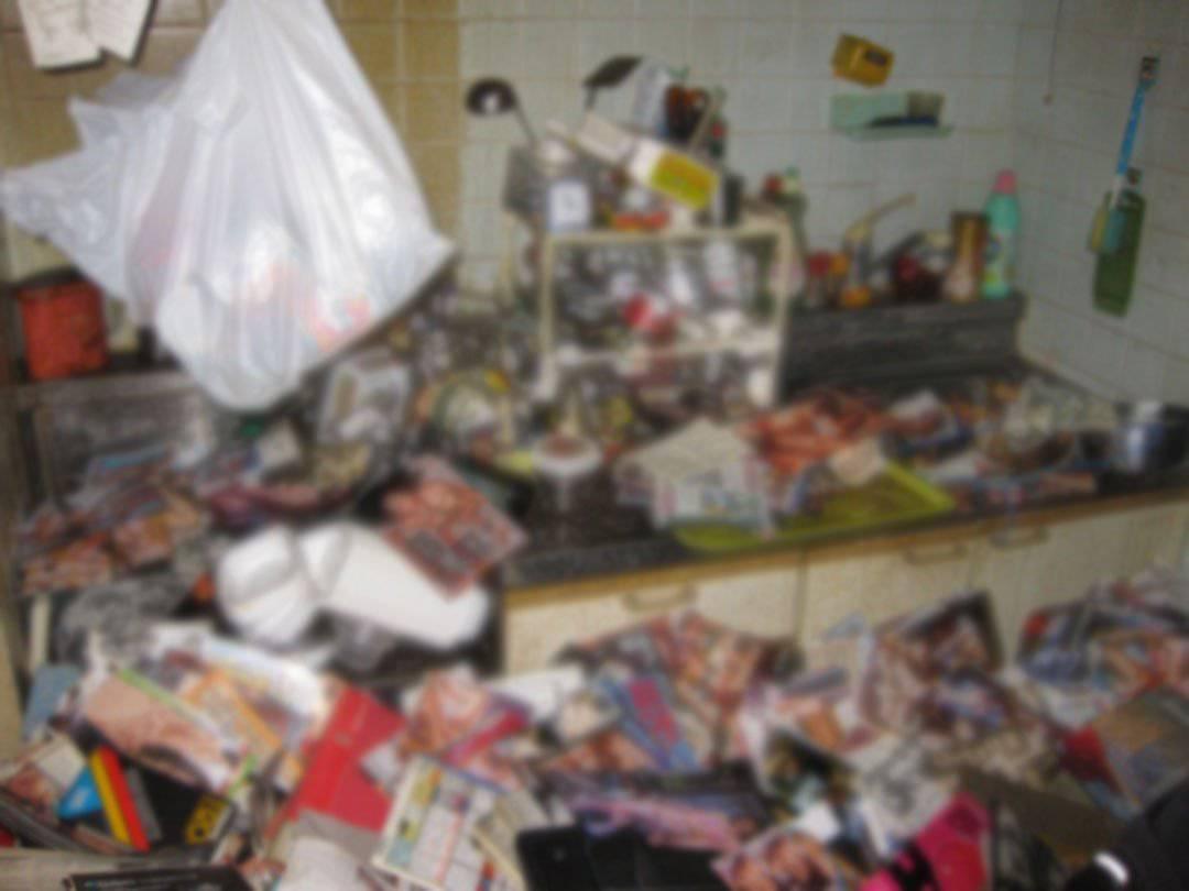 So sah die Wohnung des Pornosammlers aus.