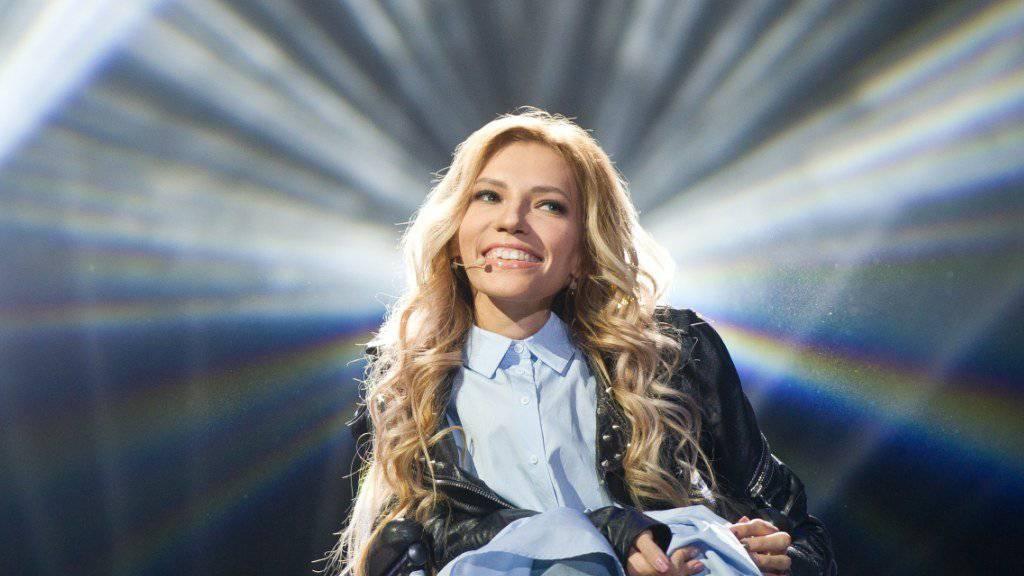 Julia Samoylova hofft immer noch darauf, im Mai in Kiew am ESC teilnehmen zu können. Auch der Kreml hofft, dass die Ukraine den Einreisestopp für die Sängerin zurücknimmt.